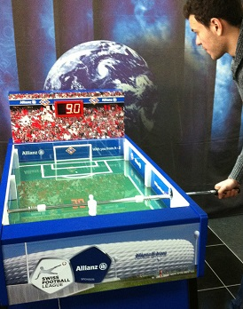 SpeedKicker, Fantainment Fussball-Simulator, Radarmessung, Km/H Tischkicker, VIP-Game
